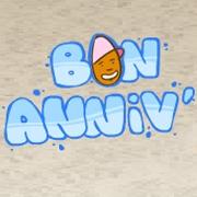 Carte de voeux : Bon Anniv'