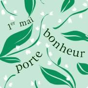 Carte de voeux : 1er mai porte-bonheur