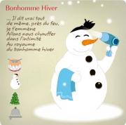 Carte de voeux : Noël en chansons