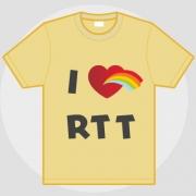 Carte de voeux : I love RTT