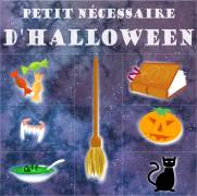 Carte de voeux : Petit n&eacute;cessaire d'halloween