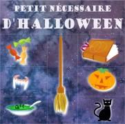 Carte de voeux : Petit nécessaire d'halloween