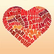 Carte de voeux : Mon coeur...