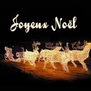 Carte de voeux : Noël, fête de lumière