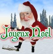 Carte de voeux : La chanson du Père Noël