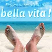 Carte de voeux : Bella vita !