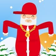 Carte de voeux : Le show du Père Noël