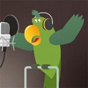Carte de voeux : Coco chante pour toi