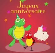 Carte de voeux : Fête d'anniversaire