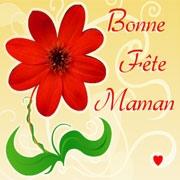 Carte de voeux : Bonne Fête Maman