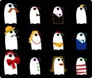 Carte de voeux : Les fantômes sur leur 31 !