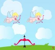 Carte de voeux : Fais sa fête à Cupidon