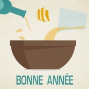Carte de voeux : Recette du bonheur