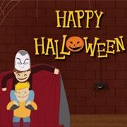 Carte de voeux : Happy Halloween