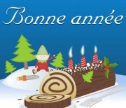 Carte de voeux : Bonne ann&eacute;e du lutin
