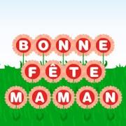 Carte de voeux : Des fleurs pour maman