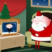 Carte de voeux : Une chanson pour petit Papa Noël