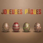 Carte de voeux : Joyeuse Pâques