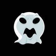 Carte de voeux : La chasse aux fantômes