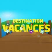 Carte de voeux : Destination vacances