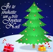 Carte de voeux : Silent night