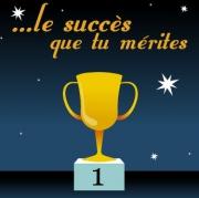 Carte de voeux : Le succès que tu mérites