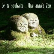 Carte de voeux : Une année Zen