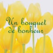 Carte de voeux : Un bouquet de bonheur