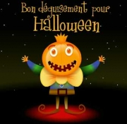 Carte de voeux : Bon d&eacute;guisement pour Halloween