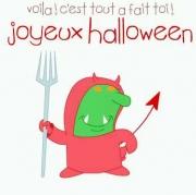 Carte de voeux : Tu te déguises pour Halloween ?