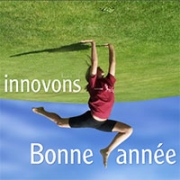 Carte de voeux : Innovons !