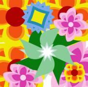 Carte de voeux : Merci pour les fleurs