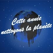 Carte de voeux : Nettoyons la planète