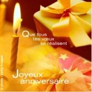 message anniversaire voeux