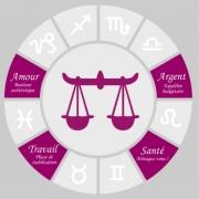 Carte de voeux : Balance