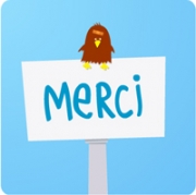 Carte de voeux : Un grand merci