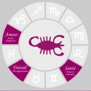 Carte de voeux : Scorpion