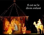 Carte de voeux : Il est né le divin enfant