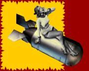 Carte de voeux : T'es d'la bombe bébé