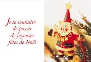 Carte de voeux : Petit Papa Noël